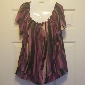 2 for $5 Claudia Richard short sleeve top